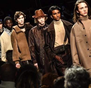 Milan's Fashion Week Sees Men's Wear Take on a More Feminine Look